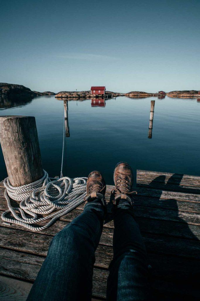 Vandra längs havet i Bohuslän