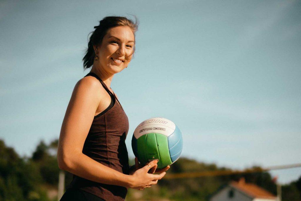 Spela volleyboll gratis utomhus på Västkusten