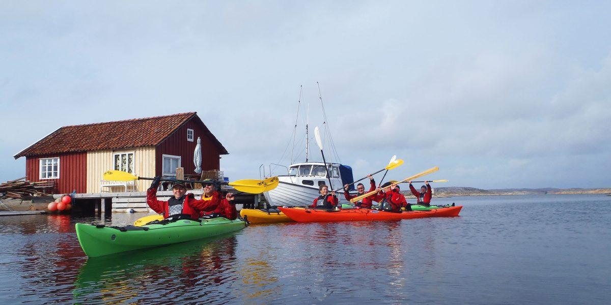 Image showing guided kayak tour