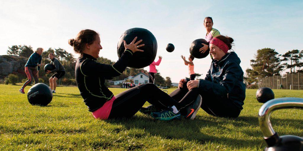 Boosta dig själv med ett kul, svettigt och fullmatat träningsevent.