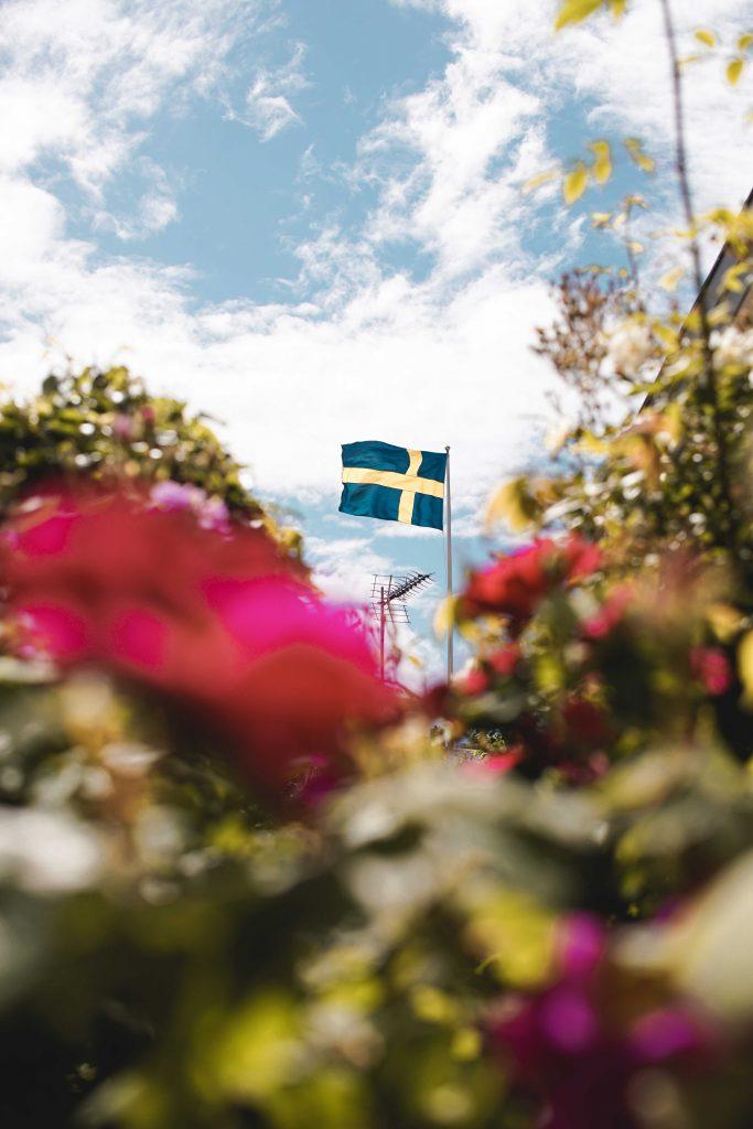 Midsommarfirande i Bohuslän på Västkusten