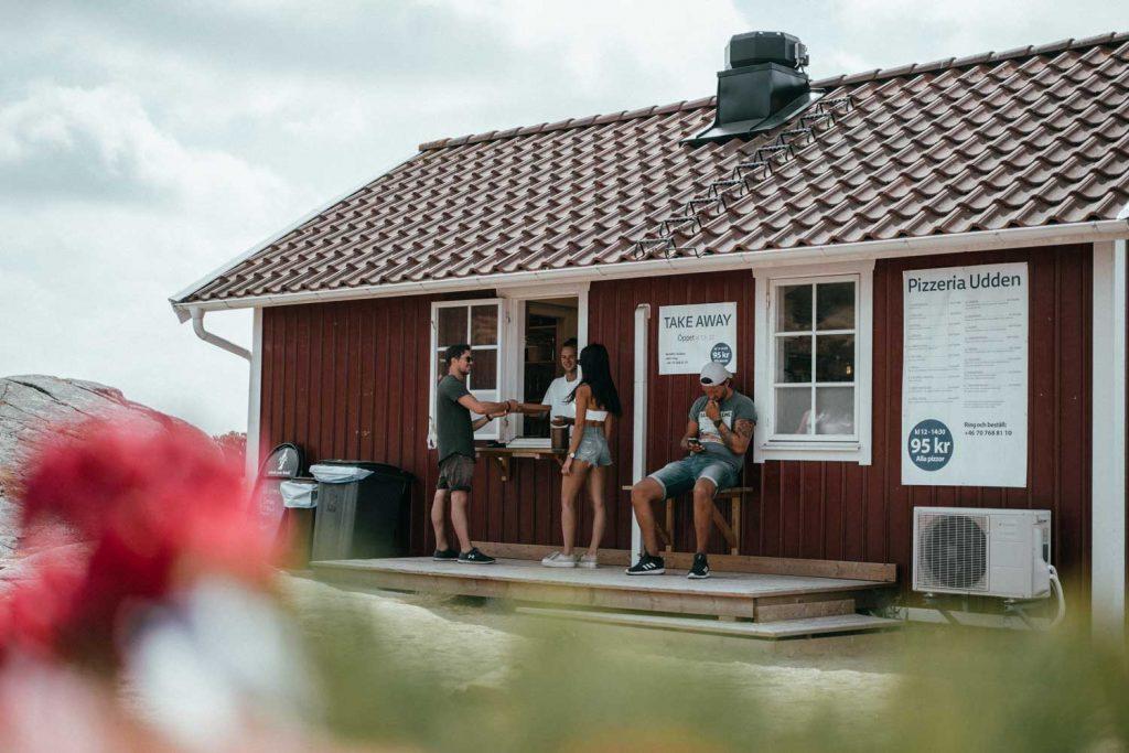 Take away pizza nära Fjällbacka och Grebbestad