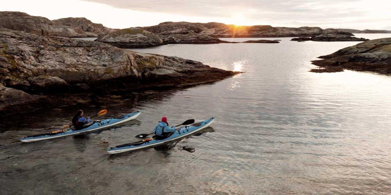 Paddla kajak i norra Bohuslän med eller utan guide