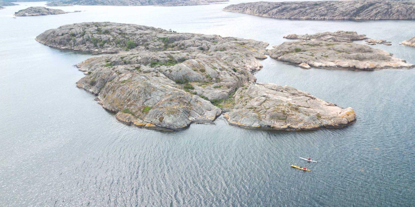 Upplev Bohusläns skärgård med kajakpaddling