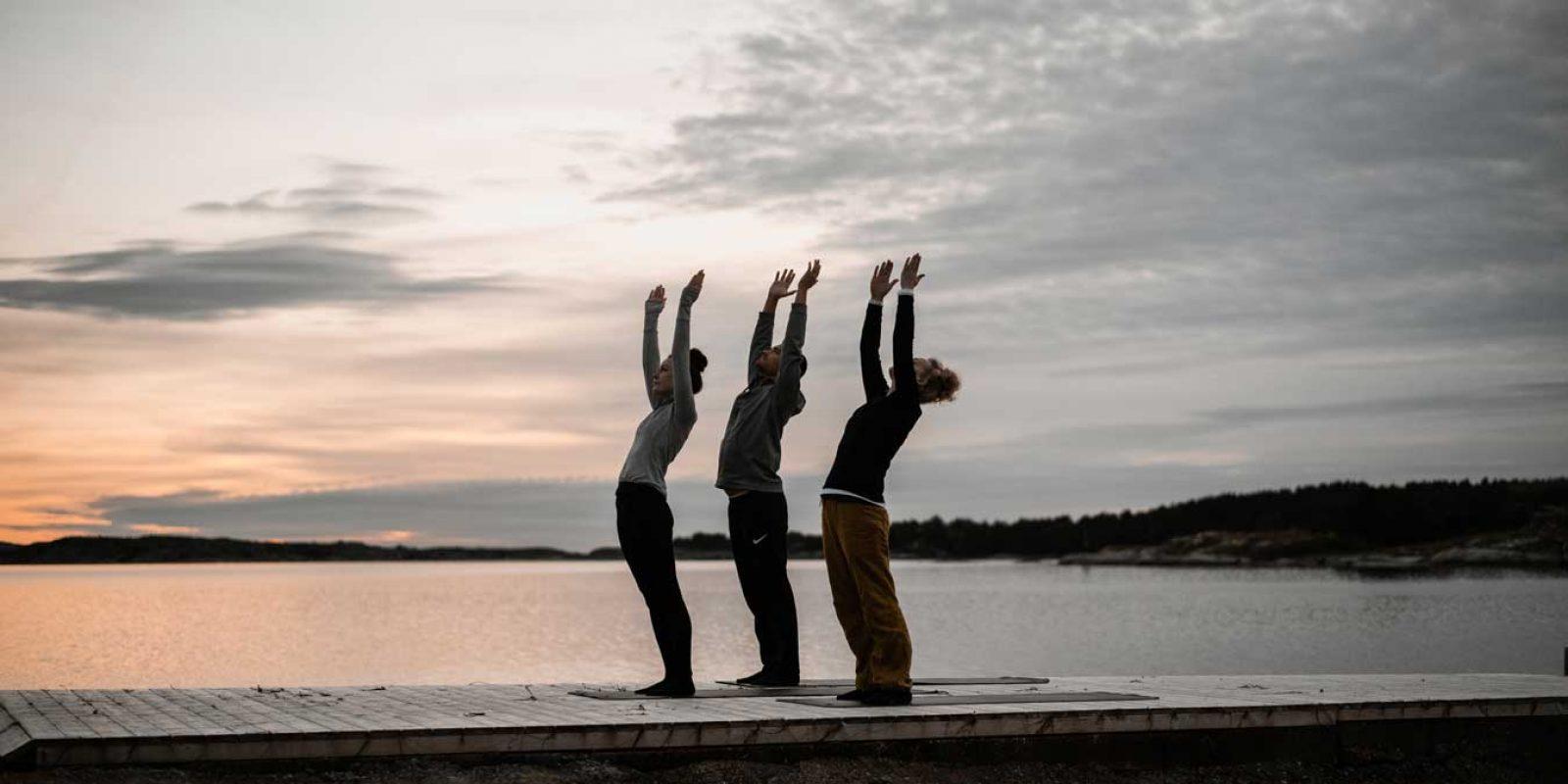 Yogaweekend på Västkusten i Sverige