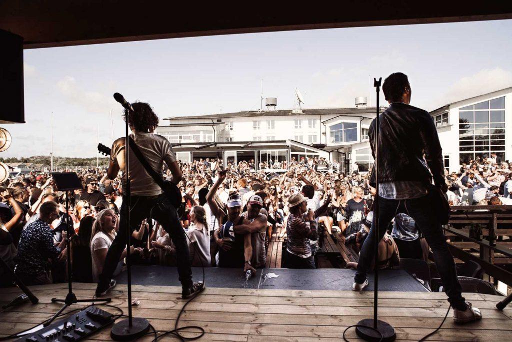 HAAKS spelar live på After Beach på TanumStrand I Grebbestad med livestream
