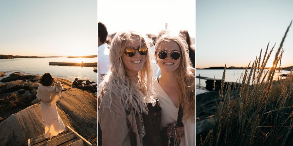 Annonser för säsongsjobb på TanumStrand på Västkusten vid Grebbestad och Fjällbacka