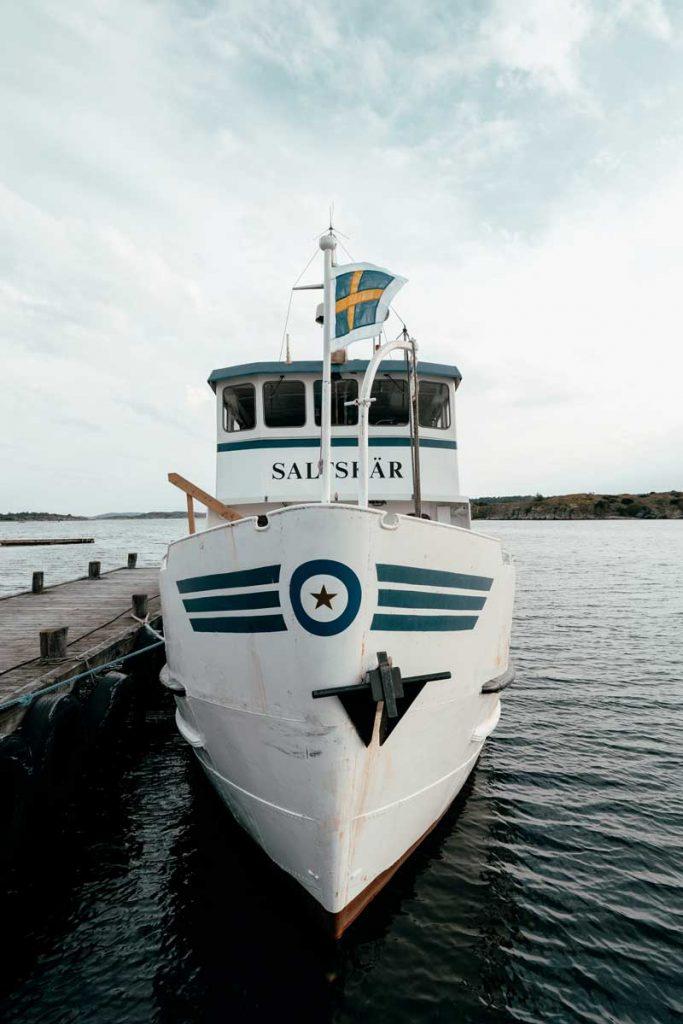 Båttur Fjällbacka Grebbestad