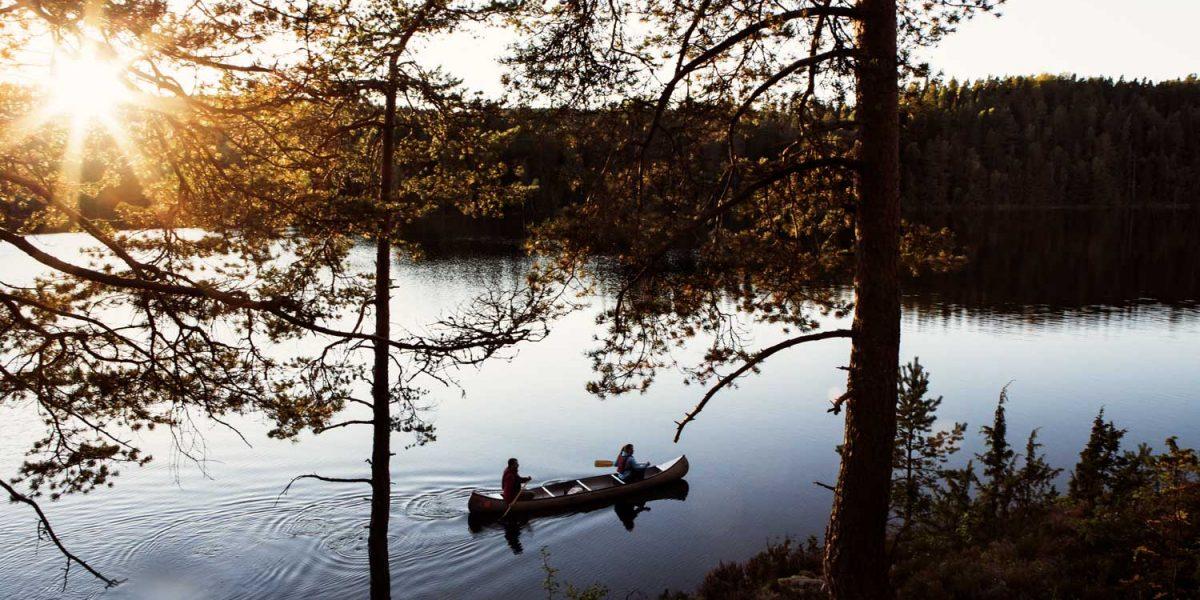 Kanotpaddling Dalsland