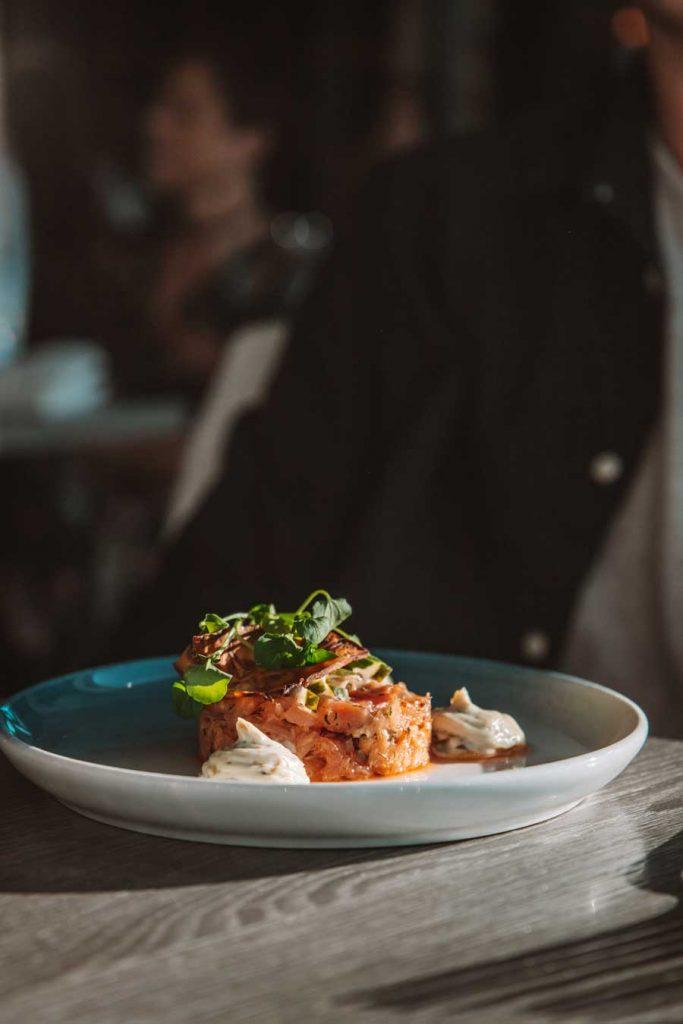 Restaurang meny Grebbestad